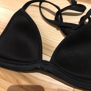 👙PINK bathing suit neoprene top 2/$15